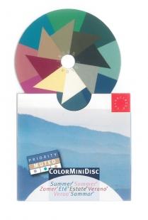 ColorMiniDisc Sommer / Priorität gedämpft, VE (5 St.)