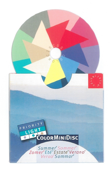 ColorMiniDisc Sommer / Priorität hell, VE (5 St.)