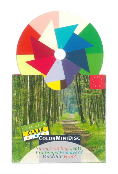"""ColorMiniDisc """"Spring / Priority Clear"""", 5 (PU)"""