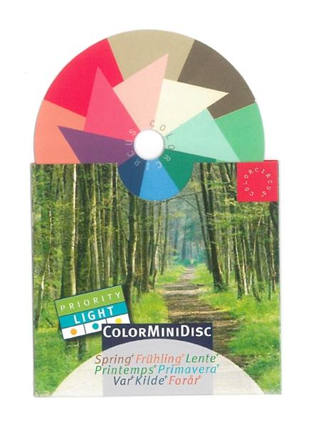 "ColorMiniDisc ""Spring / Priority Light"", 5 (PU)"