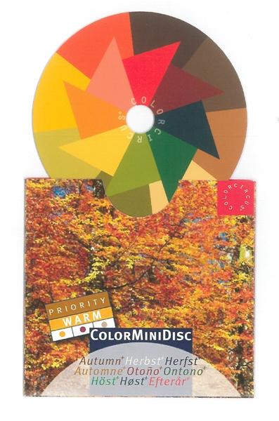"ColorMiniDisc ""Autumn / Priority Warm"", 5 (PU)"