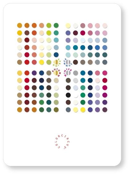 Postcard Color Candies