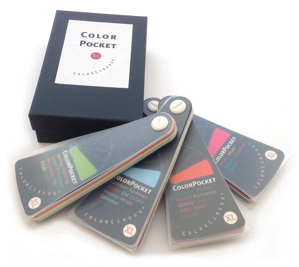 ColorPocket XL, 4Jahreszeiten-Satz