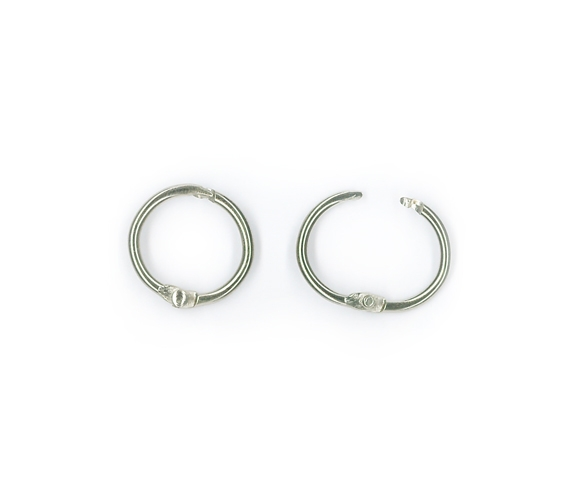 Binding Rings, ∅ 14 mm, PU (5)