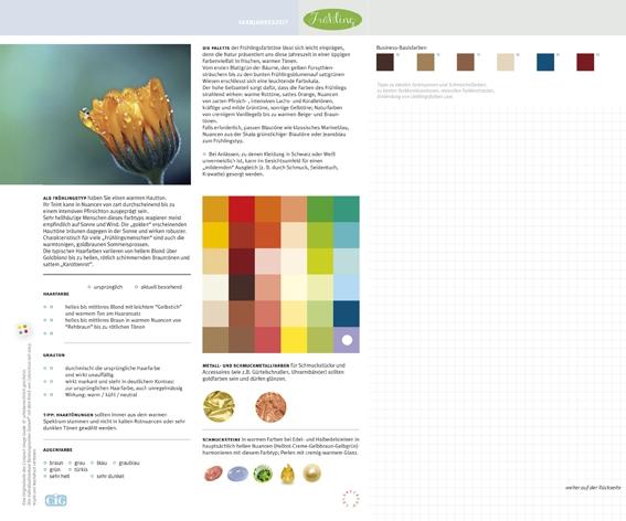 C.I.G. Farbjahreszeit Frühling / VE (5)