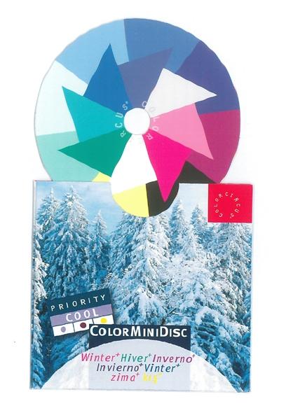 "ColorMiniDisc ""Winter / Priority Cool"", 5 (PU)"
