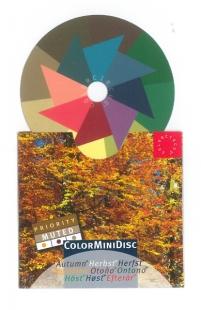 ColorMiniDisc Herbst / Priorität gedämpft, VE (5 St.)