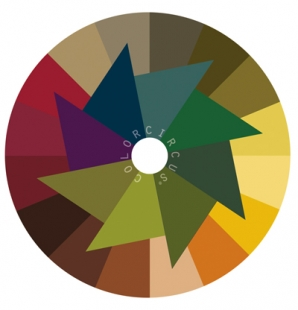 ColorDisc-Farbscheibe Herbst