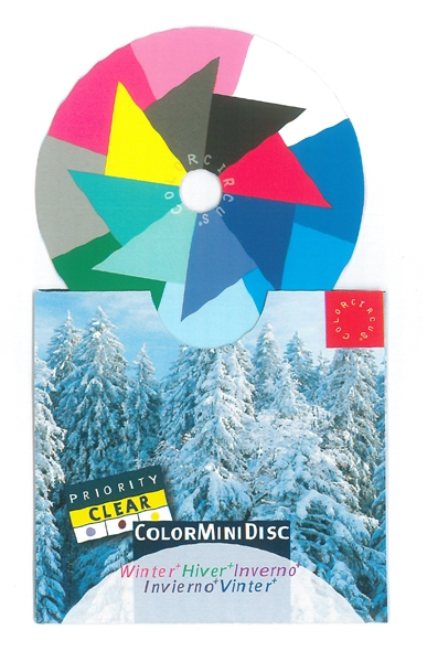 ColorMiniDisc Winter / Priorität klar, VE (5 St.)
