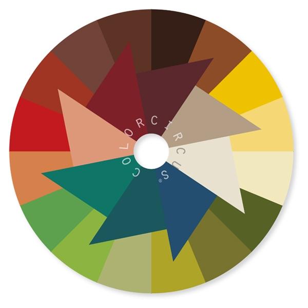 ColorDisc warme Nuancen