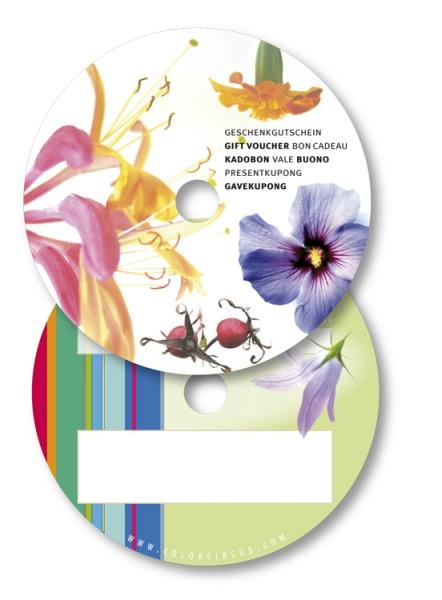 ColorBonus / Geschenkgutschein Blüten