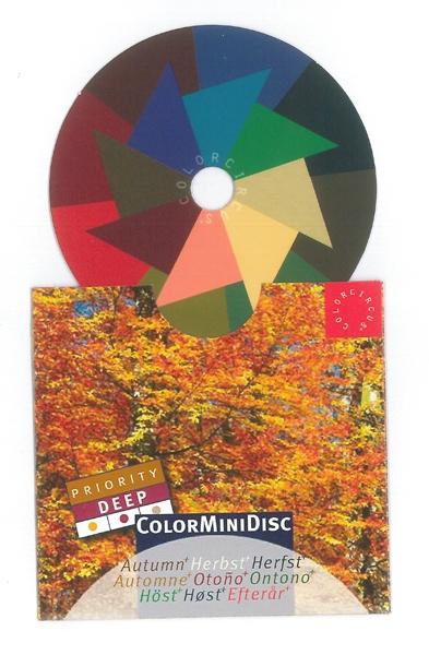 "ColorMiniDisc ""Autumn / Priority Deep"", 5 (PU)"