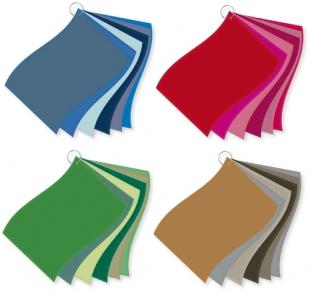 ColorFlag-Analysereihen nach Farbqualiäten (4 x 6)