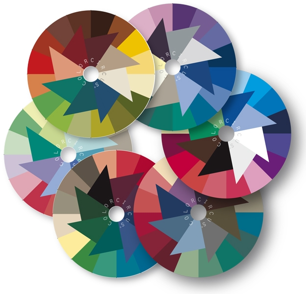ColorDisc Set, 6 Dominant Color Qualities