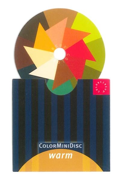 ColorMiniDisc Warm / PU (5)