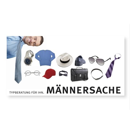 "Postkarte ""Männersache"""