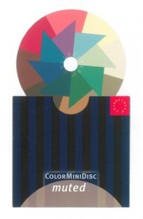 ColorMiniDisc gedämpft / VE (5 St.)