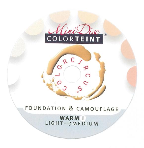 "ColorTeint MiniDisc ""Warm I"" / PU (5)"