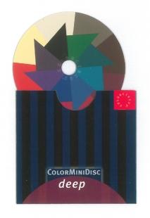 ColorMiniDisc dunkel / VE (5 St.)