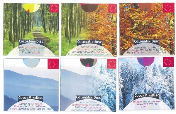 "ColorMiniDisc, Set ""6 Seasons"""