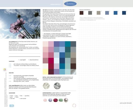 C.I.G. Farbjahreszeit Sommer / VE (5)