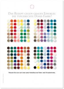 Poster Rezept Farbe
