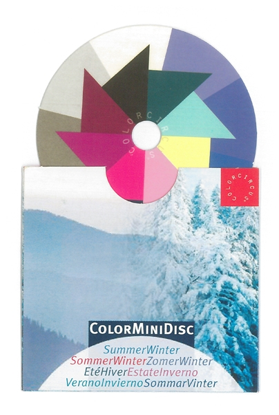 ColorMiniDisc-Farbscheibe Sommer-Winter, VE (5 St.)