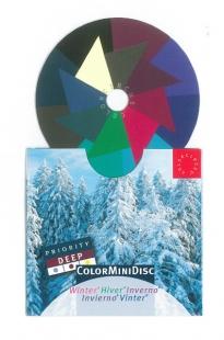 ColorMiniDisc Winter / Priorität dunkel, VE (5 St.)