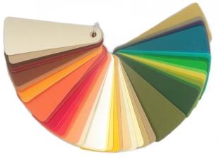 48 ColorFlakes / Frühling-Herbst / warmes Spektrum