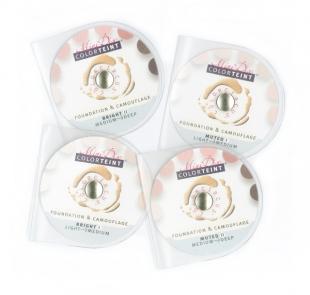 ColorTeint MiniDisc, 4er Set, mild + strahlend