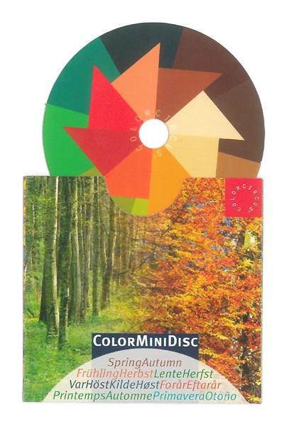 """ColorMiniDisc """"Spring-Autumn"""", 5 (PU)"""