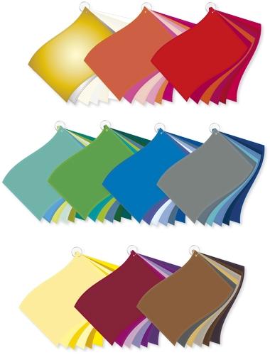 ColorFlag-Analysereihen (6 x 10) / 6 Jahreszeiten