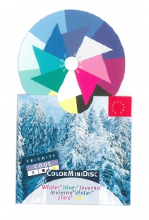 ColorMiniDisc Winter / Priorität kühl, VE (5 St.)