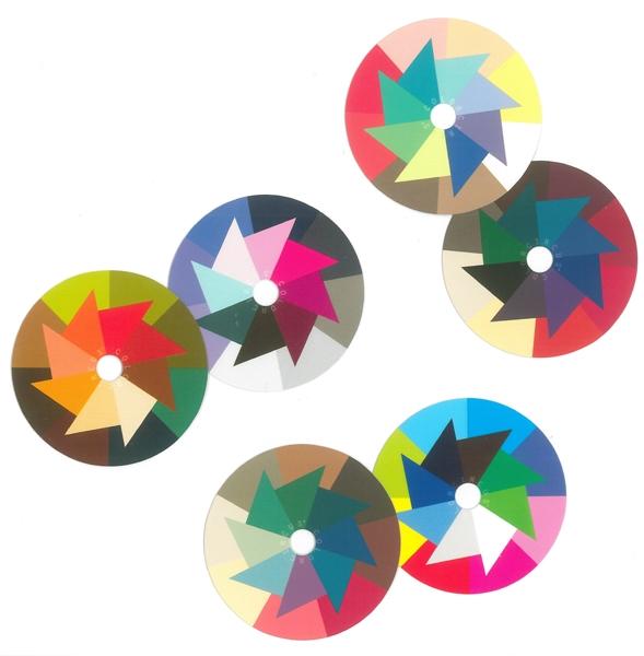 ColorMiniDisc-Set / 6 Farbqualitäten