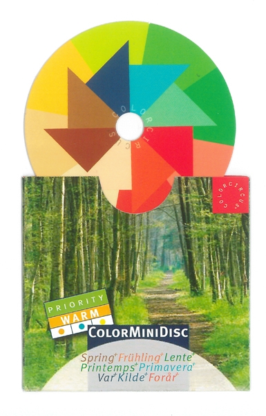 "ColorMiniDisc ""Spring / Priority Warm"", 5 (PU)"