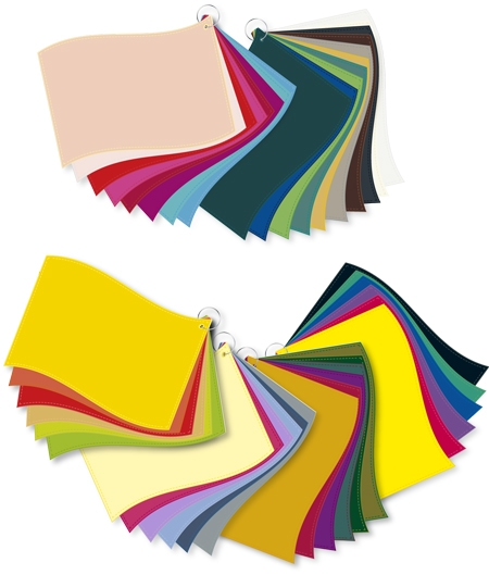ColorFlag-Tüchersatz 40 / 4 Jahreszeiten