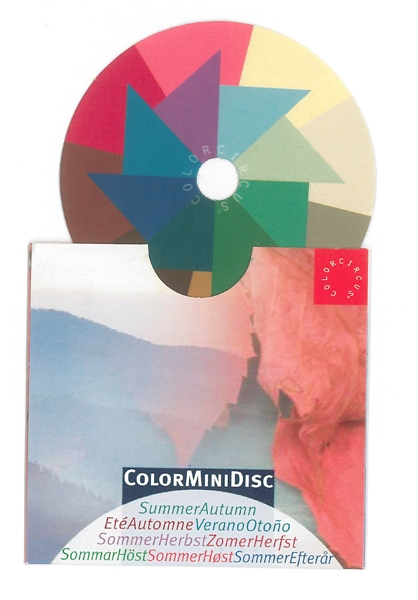 ColorMiniDisc-Farbscheibe Sommer-Herbst, VE (5 St.)