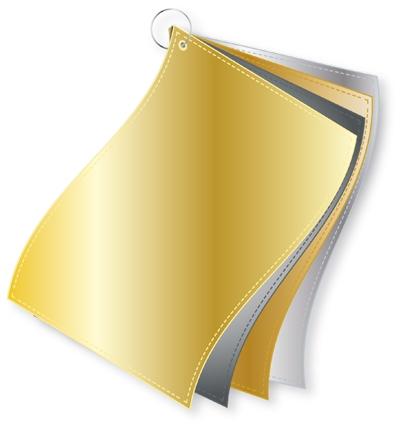ColorFlag-Einzelbund / 4 Metallicnuancen