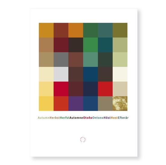 Postkarte Herbst