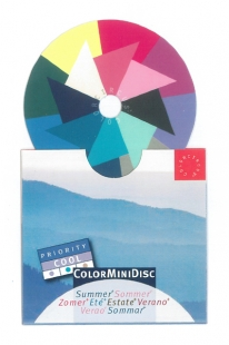 ColorMiniDisc Sommer / Priorität kühl, VE (5 St.)