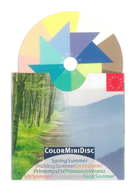 ColorMiniDisc-Farbscheibe Frühling-Sommer, VE (5 St.)