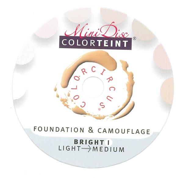"ColorTeint MiniDisc ""Bright I"" / PU (5)"
