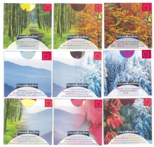 ColorMiniDisc-Set, 9 Jahreszeiten