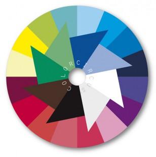 ColorDisc-Farbscheibe klare Nuancen