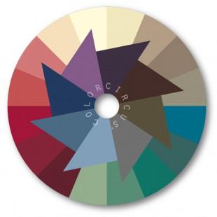 ColorDisc-Farbscheibe gedämpfte Nuancen