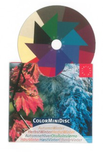 ColorMiniDisc-Farbscheibe Herbst-Winter, VE (5 St.)