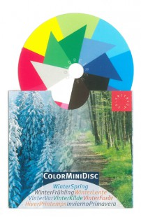 ColorMiniDisc-Farbscheibe Winter-Frühling, VE (5 St.)