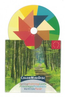 ColorMiniDisc-Farbscheibe Frühling, VE (5 St.)