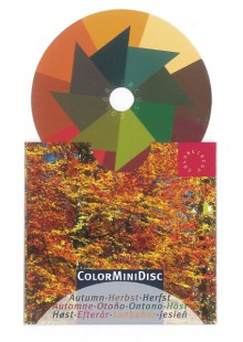 ColorMiniDisc-Farbscheibe Herbst, VE (5 St.)