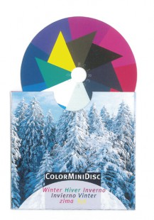 ColorMiniDisc-Farbscheibe Winter, VE (5 St.)